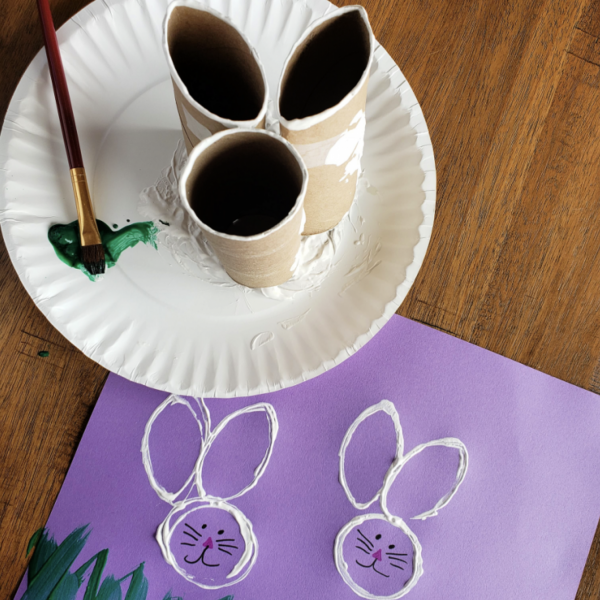 Bunny stamps